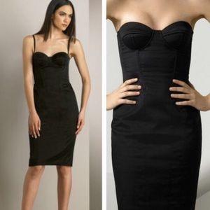 D&G Satin Bustier Dress
